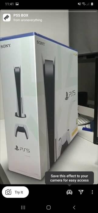Heboh Filter Instagram Terbaru Tampilkan Kotak PS5!